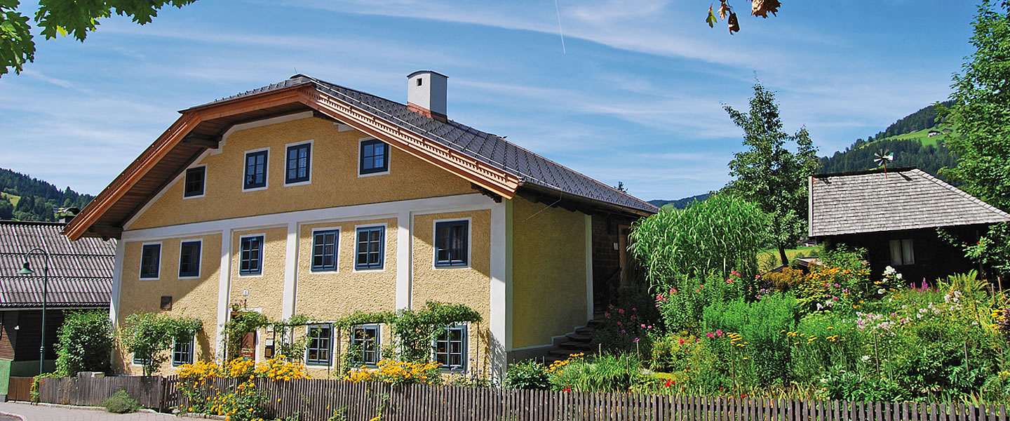 K. H. Waggerl House in Wagrain - Biography