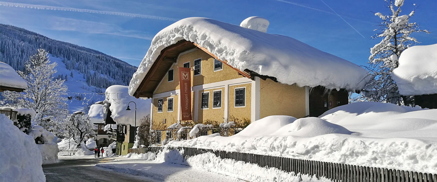 Waggerl House Museum, Wagrain in Winter